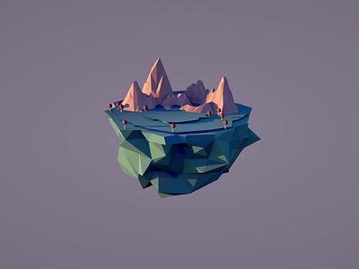 Float On game design videogame modeling cinema4d illustration 3d art 3d