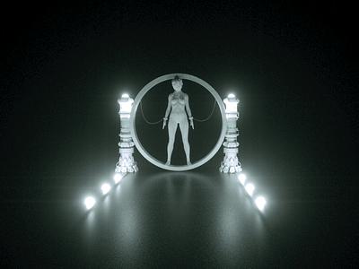 Lighting Exercise concept design digital art video game illustration modeling 3d cinema4d