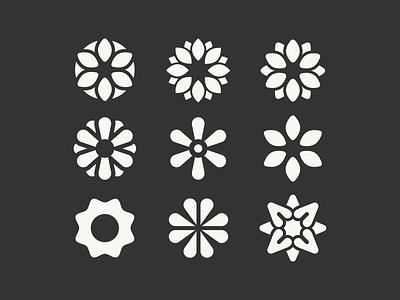 Flower Logos feminine pretty wellness nature flower beauty flowers logo collection