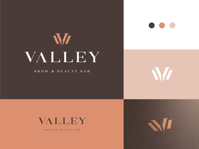 Valley Brow & Beauty Bar woman wellness beauty luxury v letter v