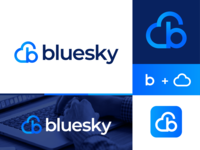 Bluesky Logo