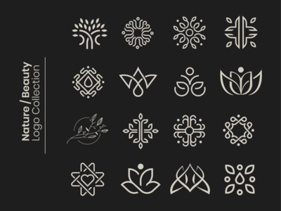 Nature / Beauty Logo Collection