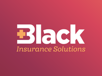 Black Insurance Solutions Logotype