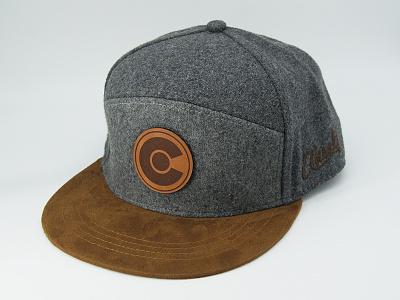 Colorado Camper Hat Design flatbill apparel design leather patch wool c hat design colorado