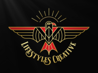 Lifestyles Creative Eagle Logo