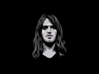 David Gilmour Illustration