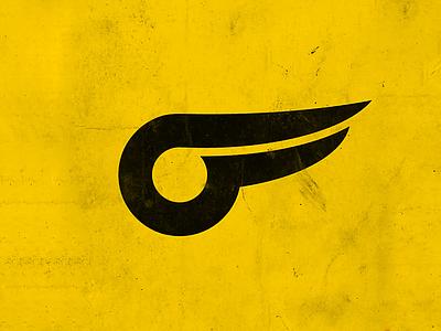 Wing Logo identitydesign branding design branding simple minimal flat design line oldschool wing symbol logo mark logo