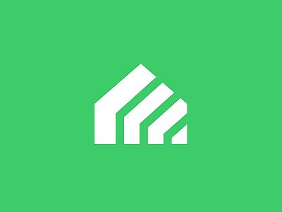 Home mark symbol icon flatdesign flat line simple minimal house home design branding logo design logo