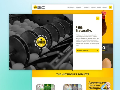 Nutrigroup - Webflow Redesign