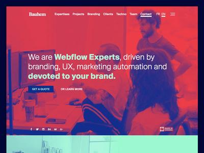 Bauhem New website