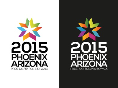 2015 Phoenix Arizona Run Branding & Logo Concept V6