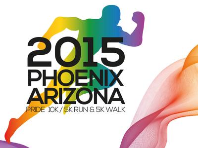 2015 Phoenix Arizona Run branding & logo project V3