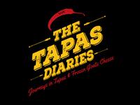The Tapas Diaries Logo Concept