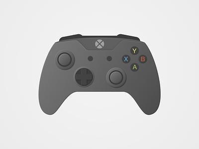 Gaming Controller Dark hardware game xbox one xbox dark mode dark controller gaming vector