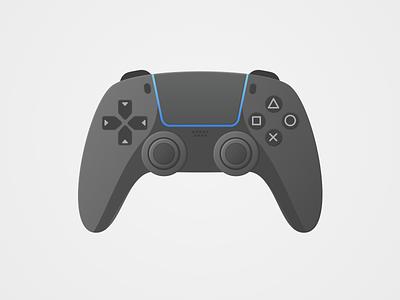 Gaming Controller Dark 2 hardware ps5 dark mode game dark controller gaming vector