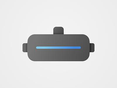 VR Dark gaming hardware dark mode dark vector vr