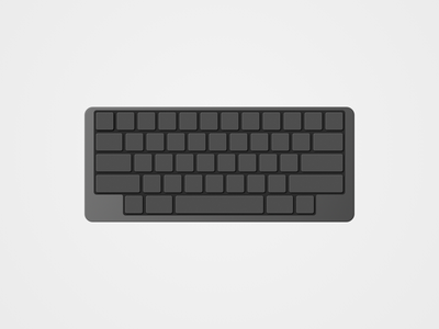 Keyboard Dark keyboard game gaming vector hardware dark mode dark