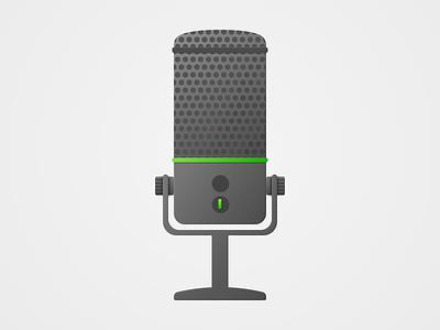 Microphone Dark microphone game gaming vector hardware dark mode dark