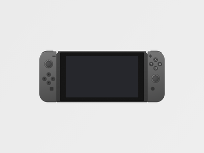 Switch Dark switch nintendo game vector hardware gaming dark mode dark
