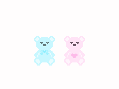 Love U 100% Bears love rebound valentinesday valentine day valentines bears
