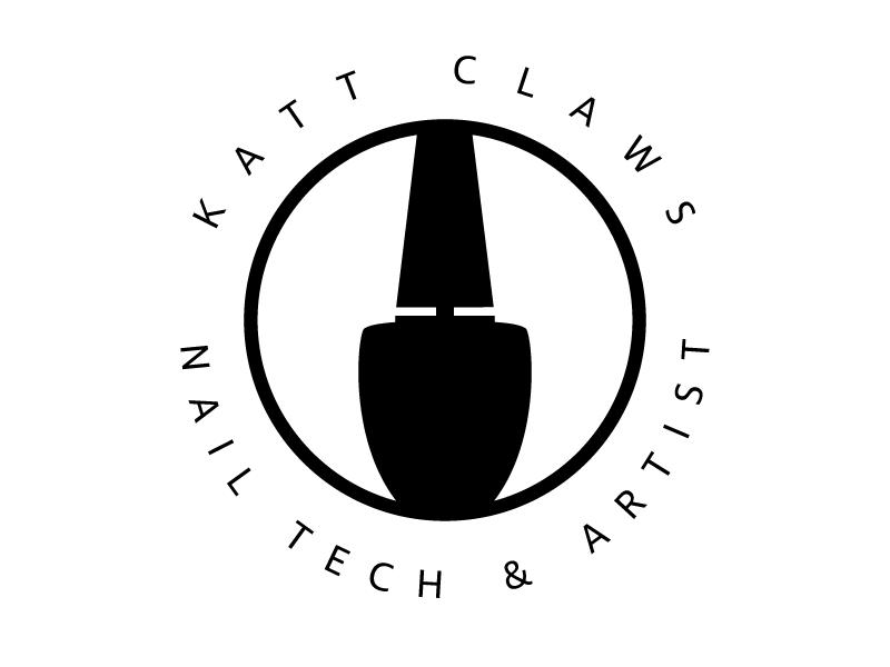 katt claws nail tech  u0026 artist logo by giovanni concepcion