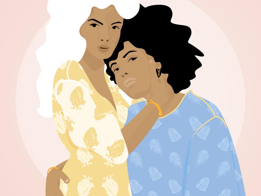 S O R O R I T Y love ibeyi artist portrait art sorority portrait graphic design woman illustration illustration