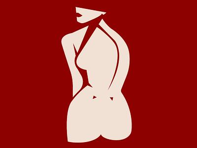 Nymph Bathing adobe graphic design adobe illustrator modern art contemporary art illustration art inspiration matisse woman feminity shape body beauty bath nymph