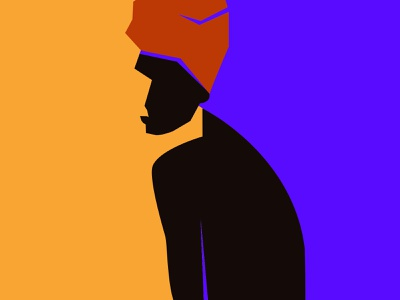 Minimalist portrait design flat inspiration adobe illustrator minimalism graphic design woman woman illustration illustration