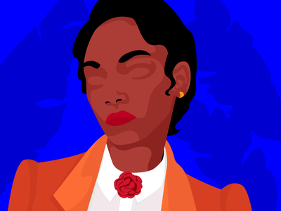 Eyes talk elegance art digital colors graphic designer minimalism graphic design adobe illustrator woman illustration illustration