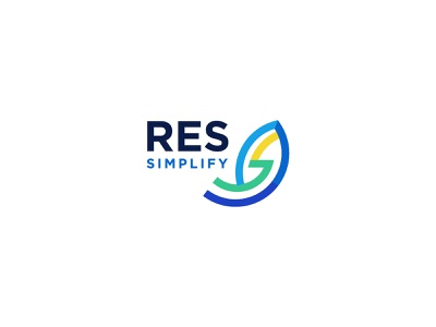RES simplify version 3 germany rgw.studio 2d illustration vector branding european union logo design rgwit