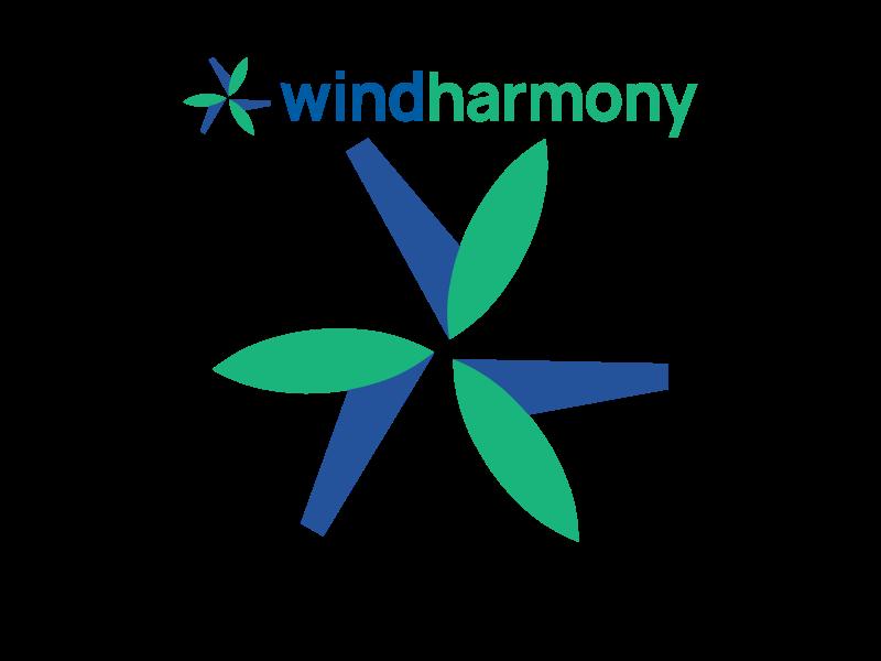 Windharmony european union eu europe logo data database windharmony turbine eco