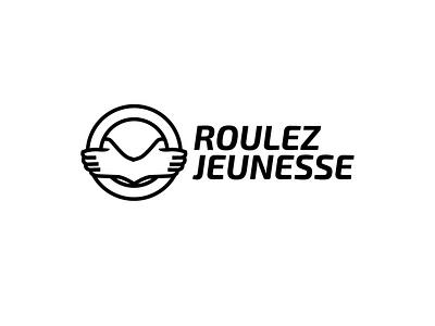RoulezJeunesse logo v1 mockup mia rgwit belgium website logo rjauto roulezjeunesse