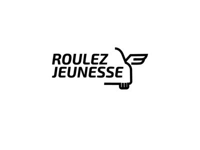 RoulezJeunesse logo v2 oldstimer cars logo belgium illustration design rgwit