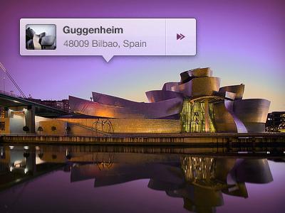 Guggenheim Bilbao guggenheim bilbao spain purple location pin