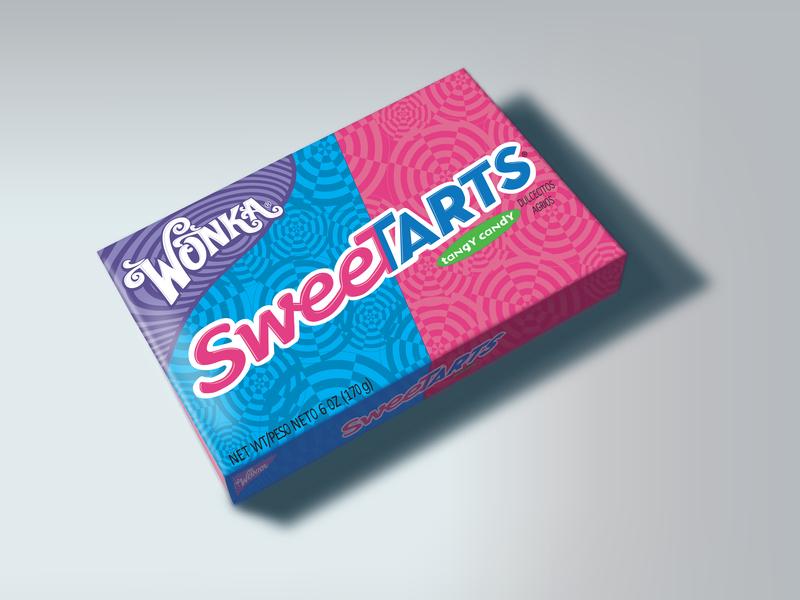 Sweetarts photorealistic design illustrator