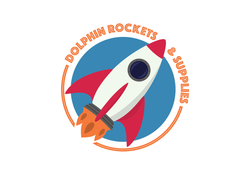 Day 1: Rocket Logo logo branding vector illustration illustrator design