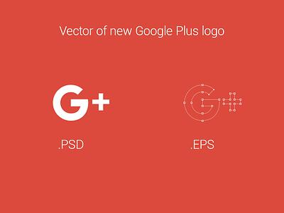 Vector of new Google Plus logo download logo new google plus google plus social icon vector google