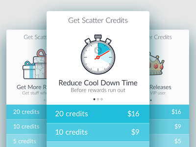 Get Scatter Credits