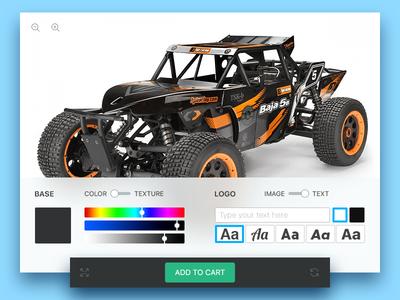 RC Car Customization for web