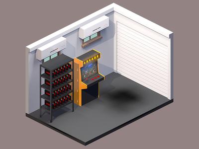 Isometric Garage