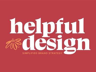 Helpful Design Revise 2021 brand strategy design studio branding logo brand identity