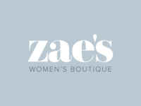 Zae's Women's Boutique Logo