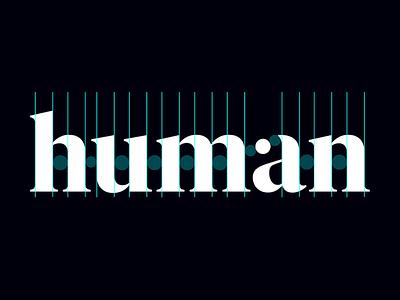 Human Design Logo Type branding typography logo