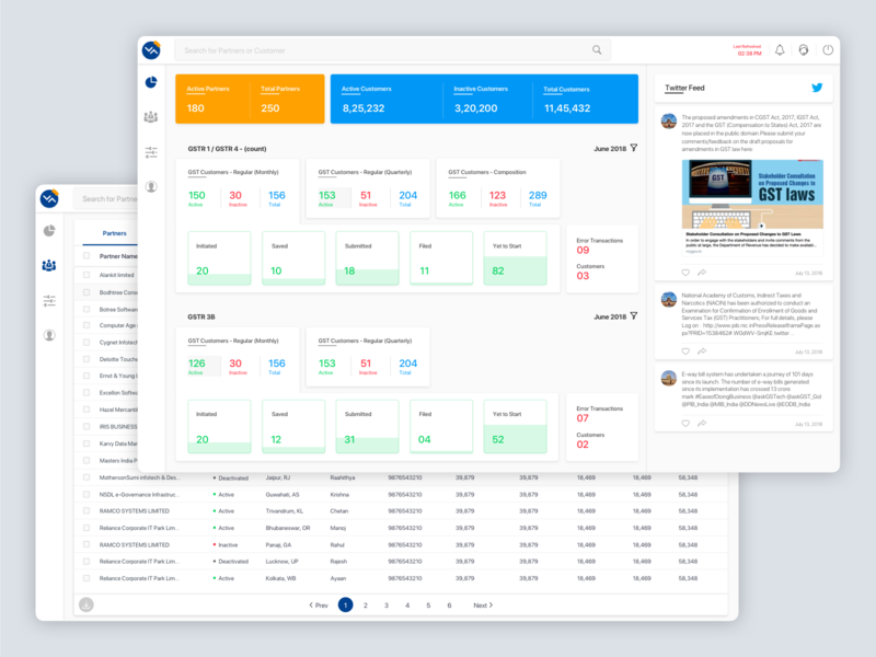 Tax Consultant Dashboard