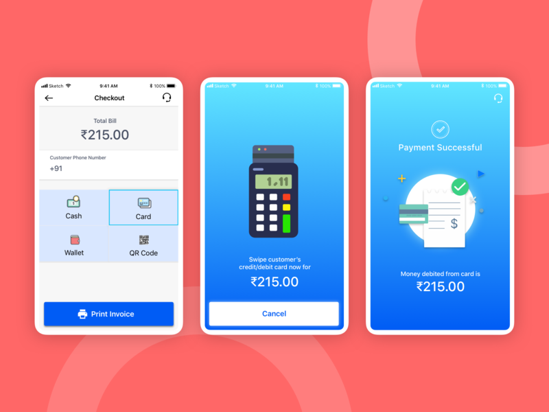 Payment options and pos payment
