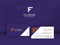 Forefront Business Card Mockup