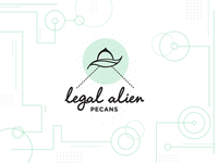 Legal Alien Logo Concept - Crop Circles
