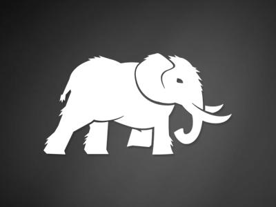 Blue Mammoth Logo - WIP by Devin Bryce   Dribbble   Dribbble
