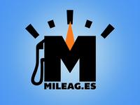 Mileag.es Logo WIP