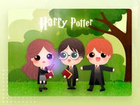 Harry Potter harrypotter design character cartoon illustration